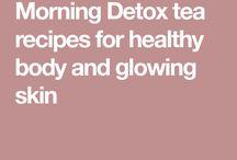 Herbal tea detox recipes