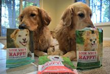 Who's Happy? / Got a photo or video you'd like to share of your happy pup or some fave raves about our treats? Send 'em in! Who knows – your pet's smiling face might show up on a Look Who's Happy package!