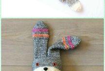 free bunny crochet pattern