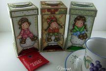 tea bag dispencer