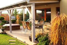WPC terasa s vířivkou / #woodparket #terasa #garden #wpc #woodplastic #bazen #whirpool #softub #spa