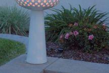 Luminárias em Cerâmica