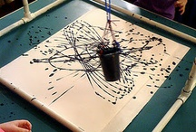 Art Ed - 2D/ painting, drawing, experimental mark making / by Ms. Ladypants