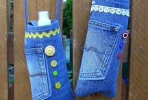 cLothing (BJ) 2B upcycled ... / *BLue Jeans ...* / by ⍲↺ℊ♡ϟƬ ~ ℬᗩяԃᏋ⍲↻ㄨ