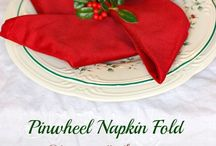 Napkin Folds / by Sandra Zinn