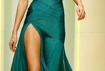 Chic evening dresses