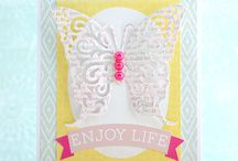 Spring Cards / Spring cards, spring crafts, tutorials and more. / by Top Dog Dies