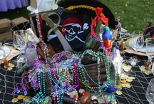 Pirates Only {So Eventful} / Pirate theme table decor