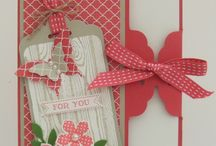 (Scalloped Tag topper punch) stampin up / by Tammey Tilton