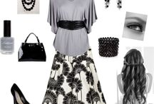 """• Wardrobe • / Like clothes and stuff like that.  """"...women adorn themselves in modest apparel..."""" 1 Timothy 2:9"""
