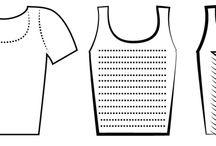 camisetas  trenzado y otros