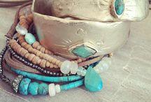 Bijoux turquoise / Turquoises Ethnic Boho