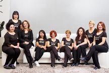 Equipo en Peluquerías Pipol Valladolid / Nuestro equipo, compuesto por nueve mujeres, dispuestas a ofrecer el más alto nivel de calidad y profesionalidad en cada servicio de belleza.