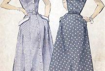 Vintage fashion and photo