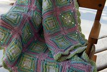 Afghans / Handmade crochet and knitting