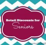 Senior Discounts / Why pay full price?