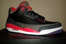 Air Jordan 3 / Bright Crimson 10,5 US