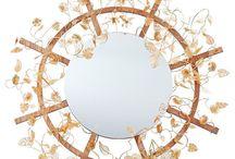 Filigree Frame Mirror