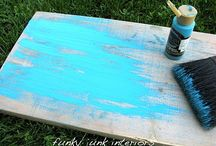 Home DIY-wood crafts / by Linsey Banford
