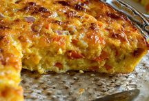Quiche ham and cheese