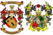 Personal or Family Coat of Arms Samples.