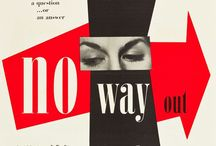 Graphic Design Inspiration by Beryl Mostert / Historical Graphic Design Images and Personal Drawings