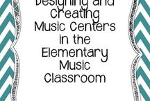 Music Centers / Music lesson ideas