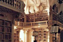 photography - libraries, bookshelves, books