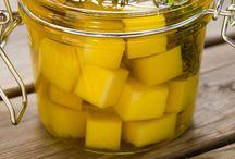 quesos en aceites