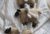 Prim Sheep / by Connie Demerchant