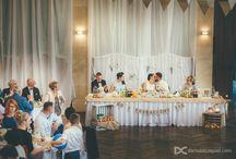 Ściana za parą młodą / The wall behind the wedding couple / Dekoracje weselne / wedding decor