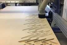 Build Run Production Woodworking / Does your business need to order lots of something? We have experience producing things like beer flights, coasters, stools, and other production woodworking. Check out our CNC work and ask about a custom design!
