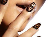 Animal print nails / by Jessica Bowman
