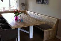 Stork beneden / Keuken, hal, zitkamer