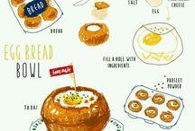 Korean Hand Painted Recipes #1
