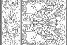 Colour in books for adults