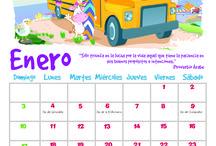 Calendario 2016 / Descarga tu calendario de pared 2016 y tu planeador mensual para mantenerte al día y con las actividades al corriente.