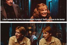 Weasley Twins <3 / all Weasley, all twins. Fred and George for the win!