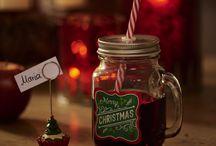 Season´s Greetings / Traditionelle Dekorationen in Rot und Grün verbreiten eine angenehm familiäre Weihnachtsstimmung.