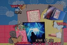 The Adventures of Glitter Girl, Scrapbooking Superhero / A gathering of all the layouts by Glitter Girl, scrapbooking super hero with her own weekly video series at Two Peas in a Bucket. / by Shimelle Laine