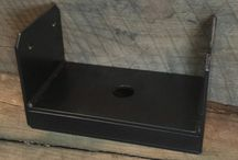 Custom Beam Brackets / Iron Brackets / Steel Brackets / These are custom brackets that we make to order for the customer's specific project.