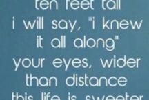 quotes & lyrics