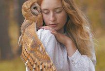 zwierzęta i dziewczyny
