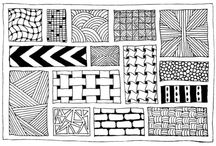How to Zentangle Patterns