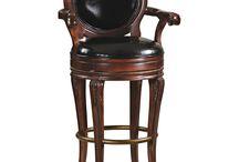 Swivel barstools & counter stools