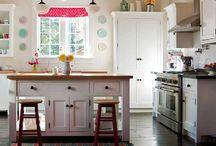 Cottage Kitchens / We design & build custom inset cabinets for homeowners across Canada & the USA.  www.wesleyellen.ca   1.888.309.0616