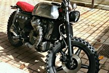 Honda cx 500 / Motorcykel