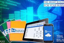 Trial Balance / Trial Balance is a list of all the General ledgers (both revenue and capital) contained in the list of ledgers of a business... http://maxxerp.blogspot.in/2013/08/maxx-right-solutions-for-your-business.html