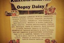 Oopsy Daisy / Kulttuurikahvila  Oopsy Daisyn kuulumisia ja tunnelmaa