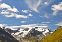 Bergsommer im Pitztal / Die Pitztaler Berge bieten einen perfekten Ausgangspunkt für sportliche Aktivitäten wie Wandern, Mountainbiking, Action auf diversen Klettersteigen sowie Klettern mit Gletscherblick.